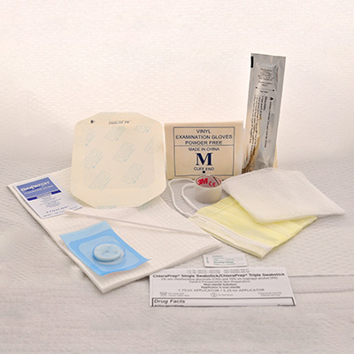 Sterile, Central Line Kit