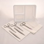 Sterile, Laceration Tray