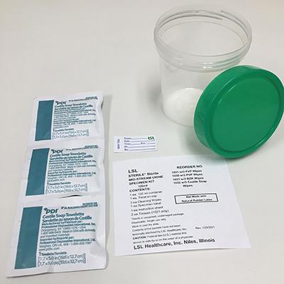 urine specimen kit